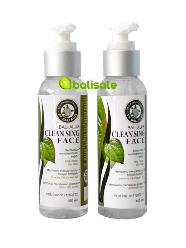cleansing face bali alus